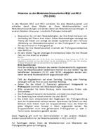 Hinweise zu den Modulhausarbeiten M12 und M13 (PO 2008)