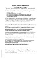 Merkblatt Versäumnis und Rücktritt von Modulprüfungen