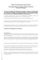Merkblatt Rücktritt von Modulprüfungen wegen Krankheit